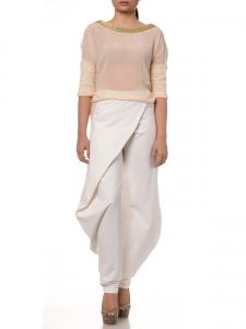 TUAREG WHITE PANTS