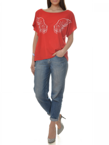 TSHIRT RED ANGEL