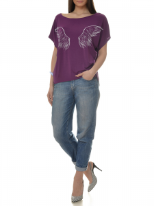 TSHIRT PURPLE ANGEL