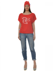 TSHIRT BABY ANGEL RED