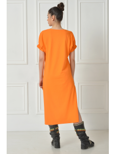 ASIMETRIC SHIRT DRESS