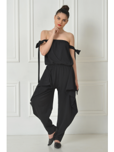 ORIGAMI COTTON JUMPSUIT