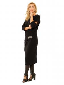 ORIGAMI BLACK DRESS