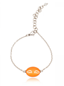 ORANGE WINGS BRACELET