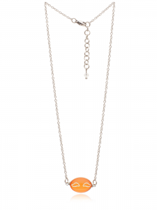 ORANGE WINGS NECKLACE