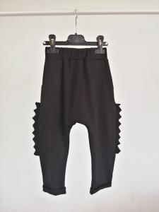 Dino Long Black Pants
